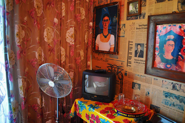 Frida Kahlo Room at Hotel Bazar Rotterdam