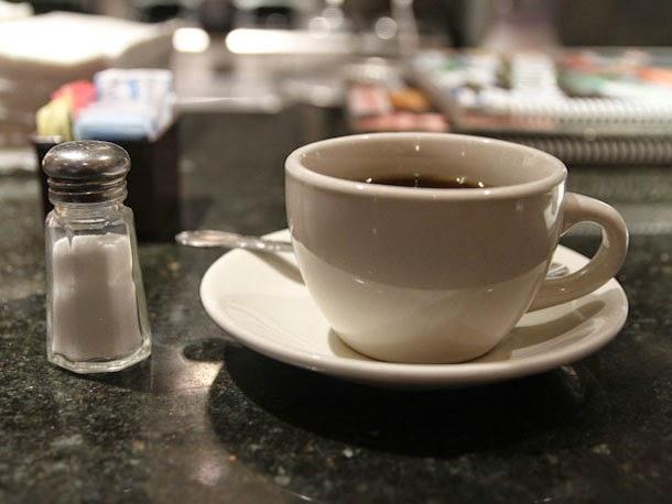 kebaikan kopi campur garam