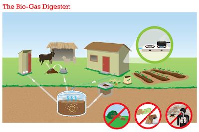 Darimana Asal Energi Biogas?