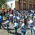 Desfile cívico em comemoração ao dia 07 de Setembro
