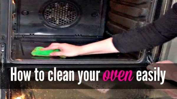 Beautifully Organised How To Clean Your Oven Easily