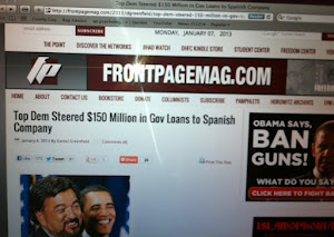 FrontPageMag.com Links to Our August 2012 Abengoa Research