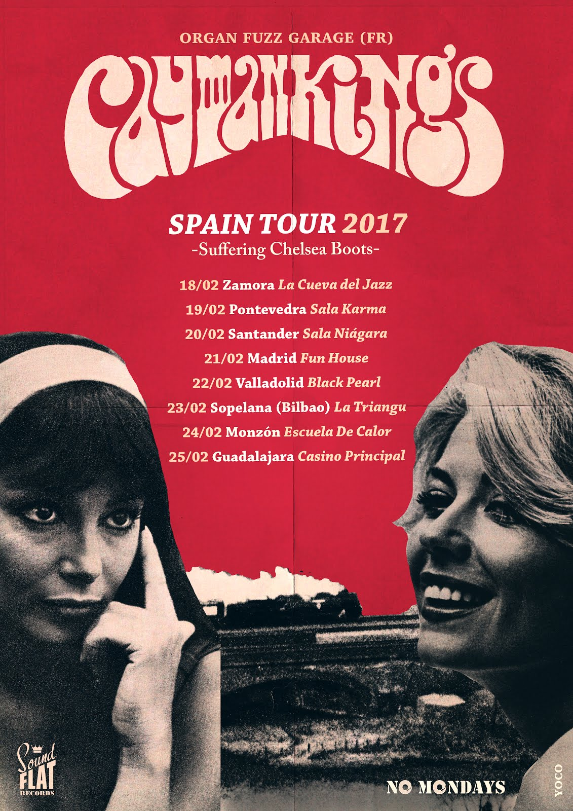 "Cayman Kings Spain Tour 2017 ""Suffering Chelsea Boots"""