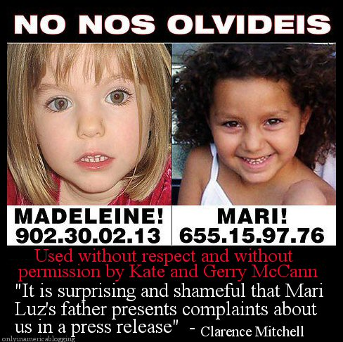 McCann's use death of Mari Luz