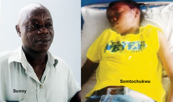 Man Ruptured His 13 Yrs Old Child's Intestine Beating Him On His Birthday