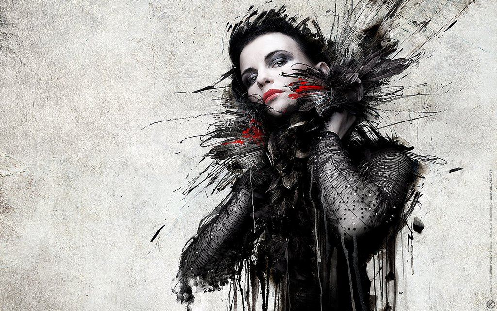 Woman Digital Art