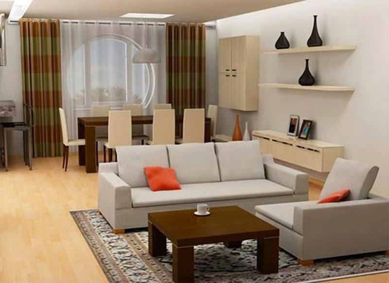 Desain ruang tamu sederhana dan simpel