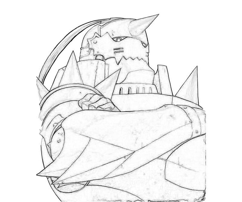 fullmetal-alchemist-alphonse-elric-robot-coloring-pages