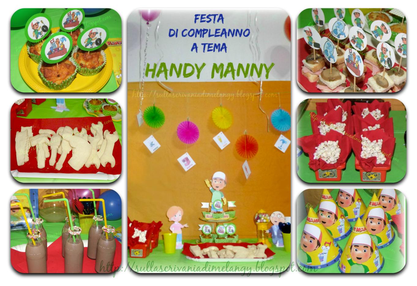 spesso Compleanno bambini: festa a tema Handy Manny! | Sulla scrivania di  BV58