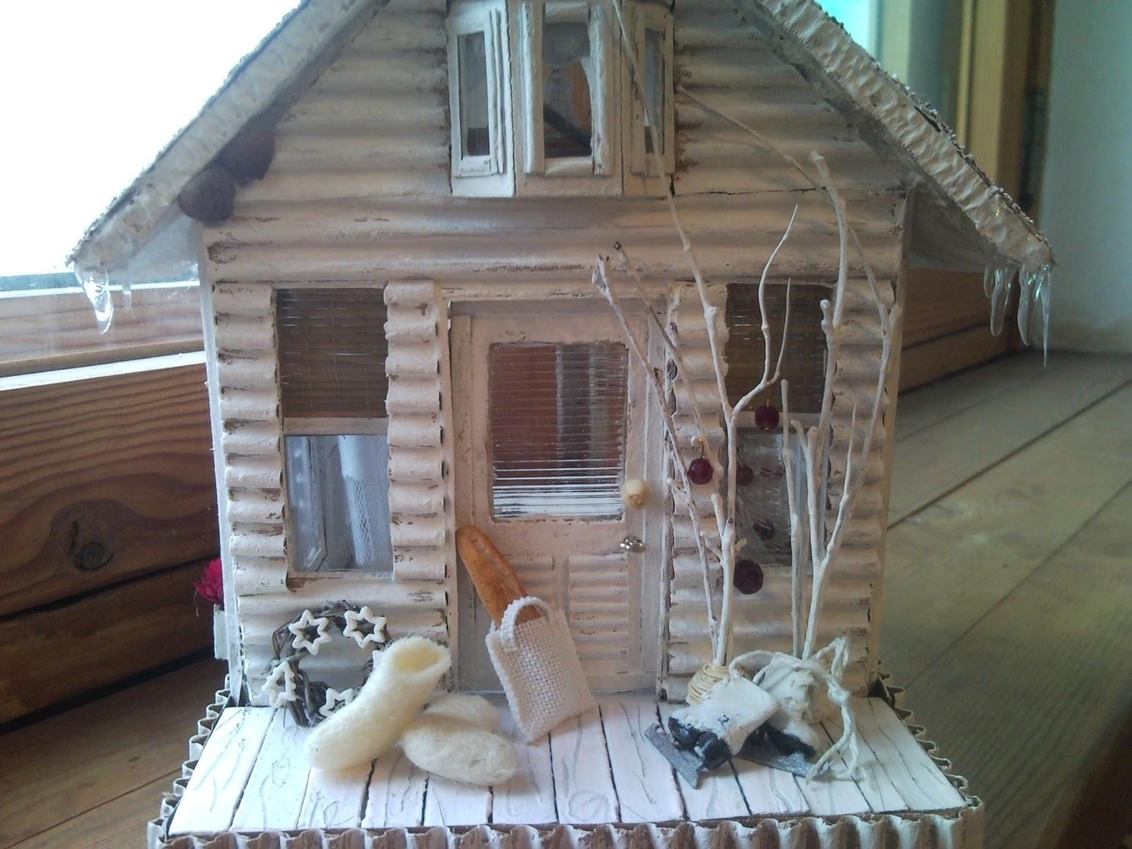 Зимние своими руками домик