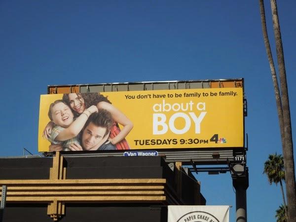 About a Boy season 2 billboard