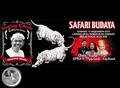 Puri Emily, H. Dedi Mulyadi bersama Dangiang Ki Sunda Safari Budaya Di Pamanukan, Subang