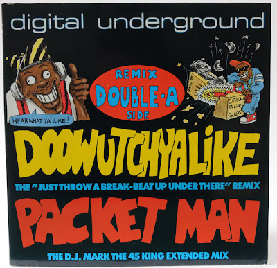 Digital Underground – Doowutchyalike (Remix) / Packet Man (VLS) (1990) (320 kbps)