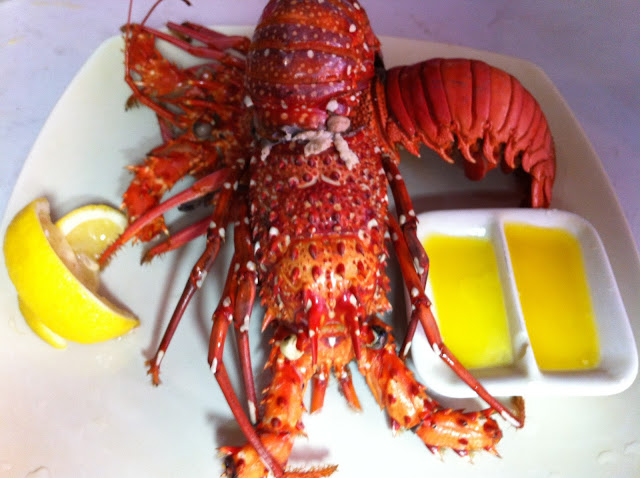 Spiny Lobsters Recipe