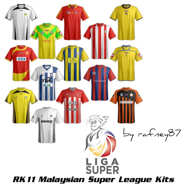 Kitpack Liga Super Malaysia (FM2011)