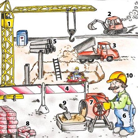 lista de construccion: