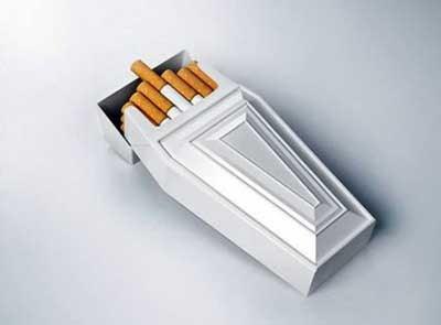 Rokok di Dalam Peti Mati