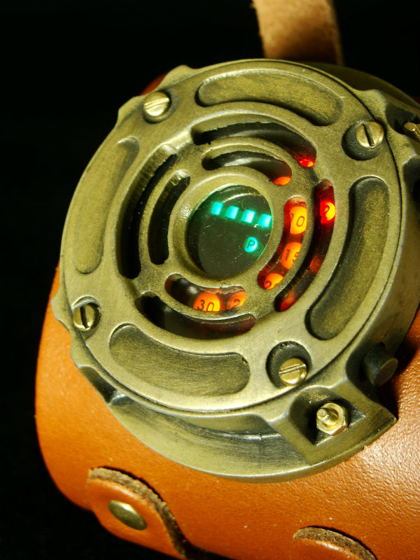how to make a steampunk watch