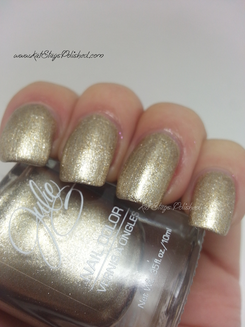 JulieG Nail Color | Metallic Heels