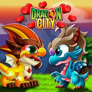 imagen de la oferta de los dragones padres de dragon city