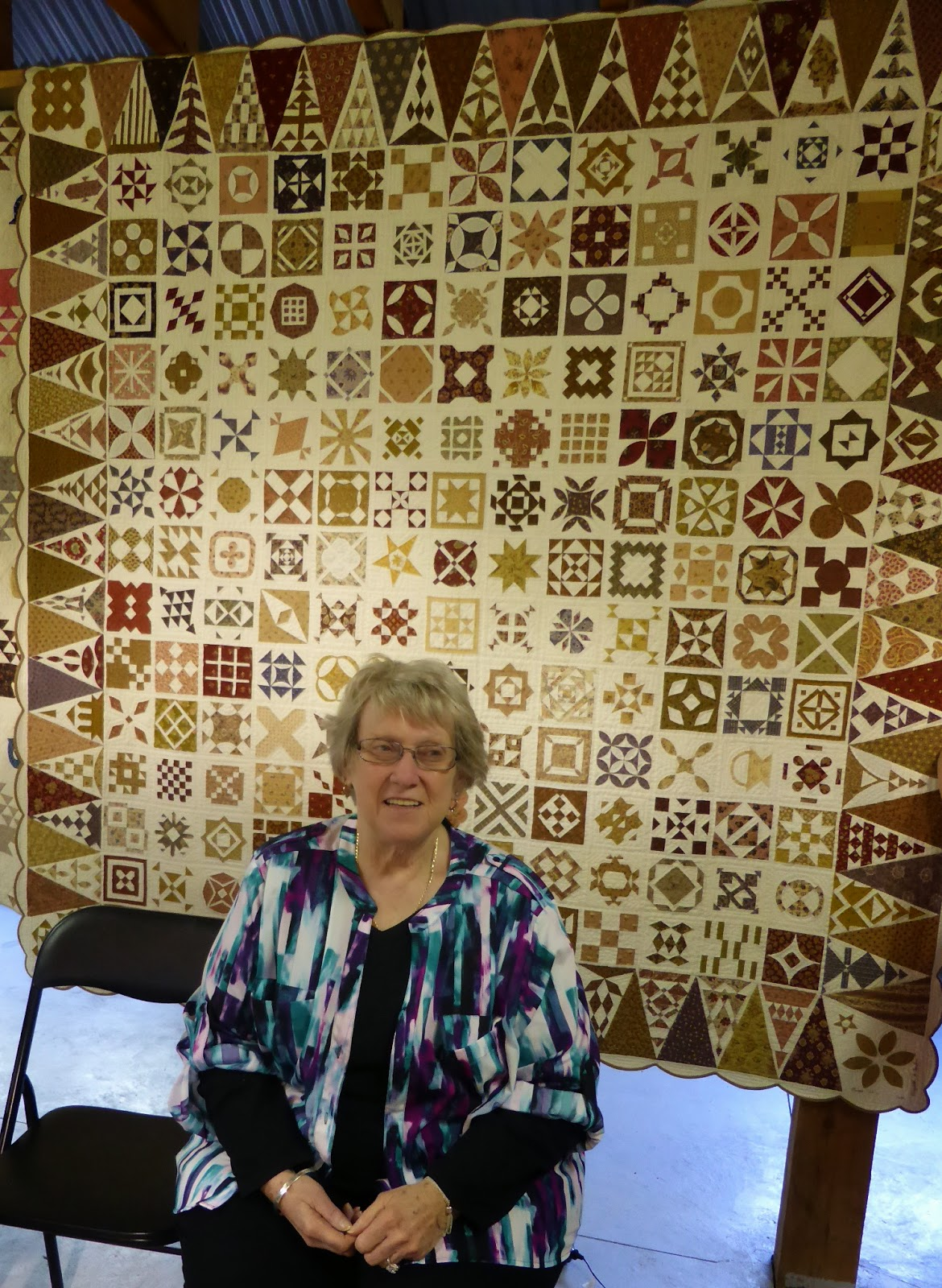 Brenda Papadakis Dear Jane Quilt Quilts in the Barn