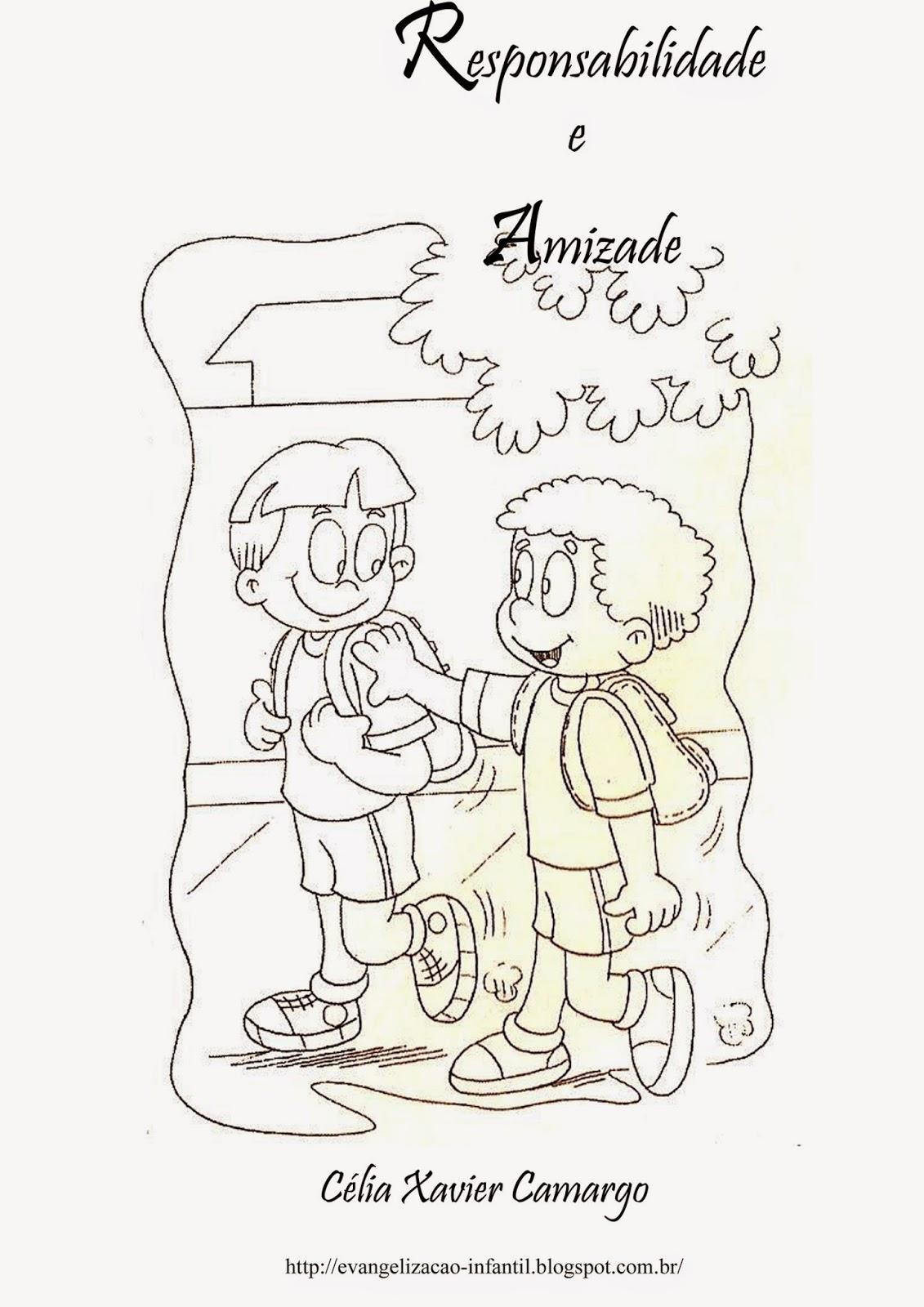 Well-known Evangelização Espírita Infantil: História - Responsabilidade e Amizade WX28