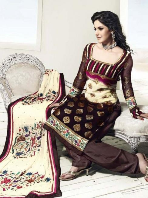 Bollywood Star Zarine Khan Indian Clothes Collection 2011