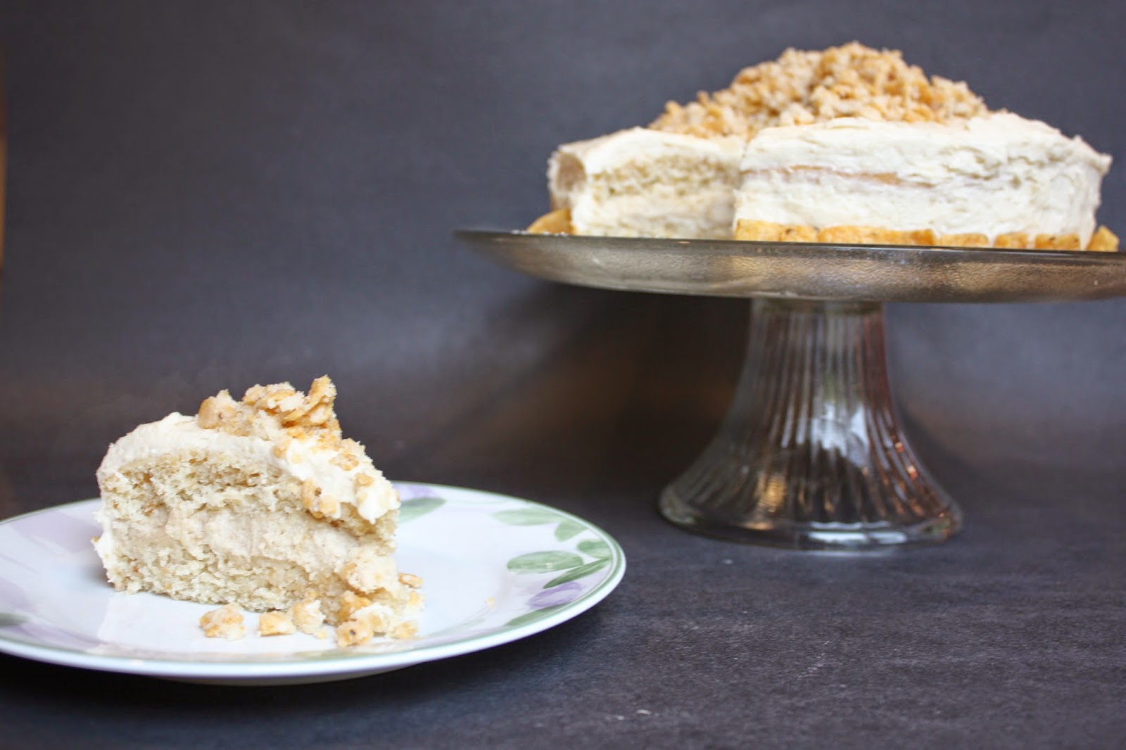 vegan frito cheesecake cake