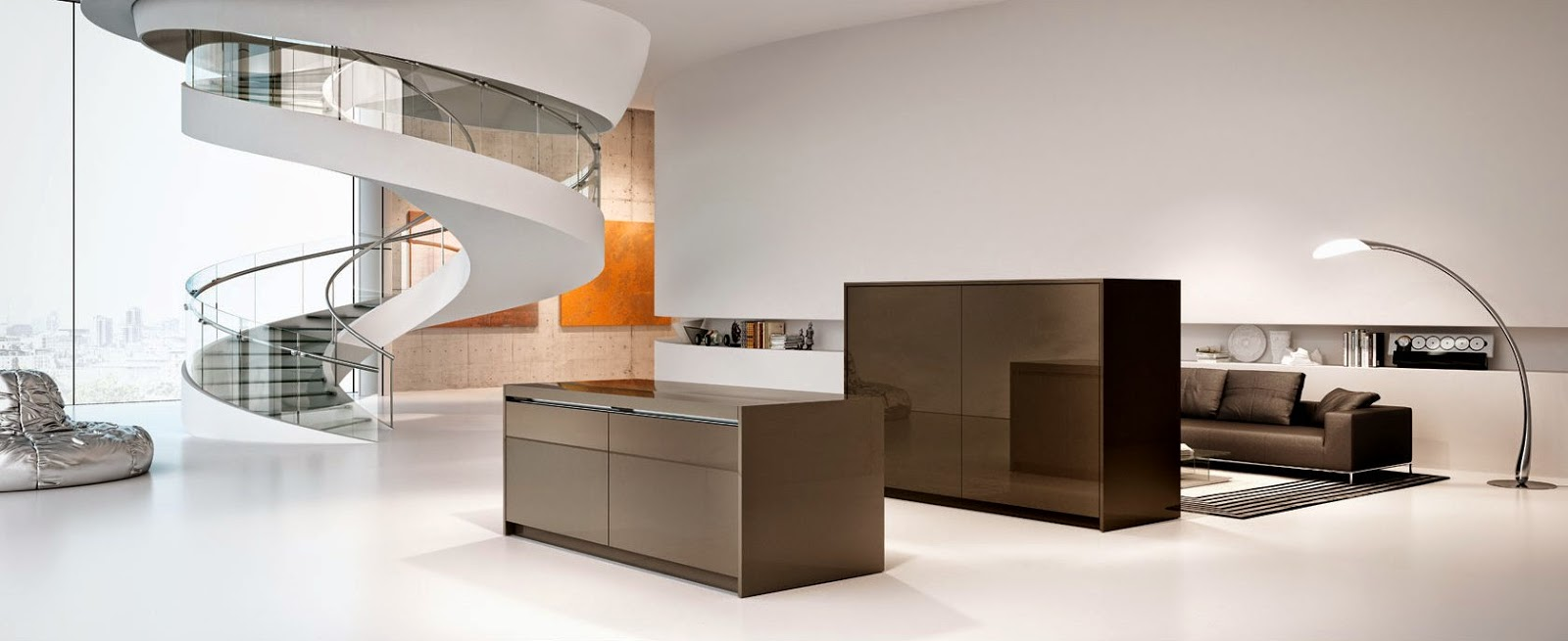 Modern Multifunctional Kitchen Design