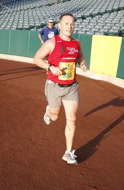 Anaheim Stadium Disney Half Marathon 2011