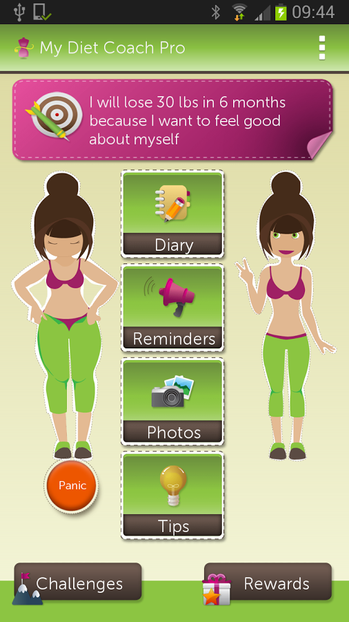 FREE IS MY LIFE: APP REVIEW: My Diet Coach II - Pro for ...