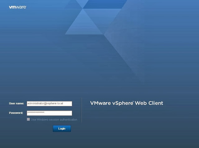 vSphere 5.5 Upgrade Part 14 - Different Methods to access vSphere Environment