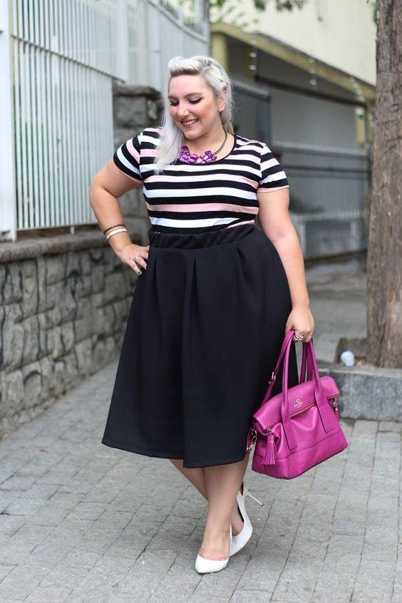 ¿Cómo usar faldas si soy gordita?