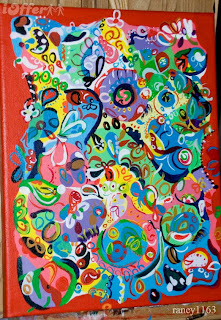 Acrylic-Art-Painting-Wallpaper