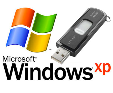 How to Install Windows XP on an ASUS Eee PC Using a USB Drive