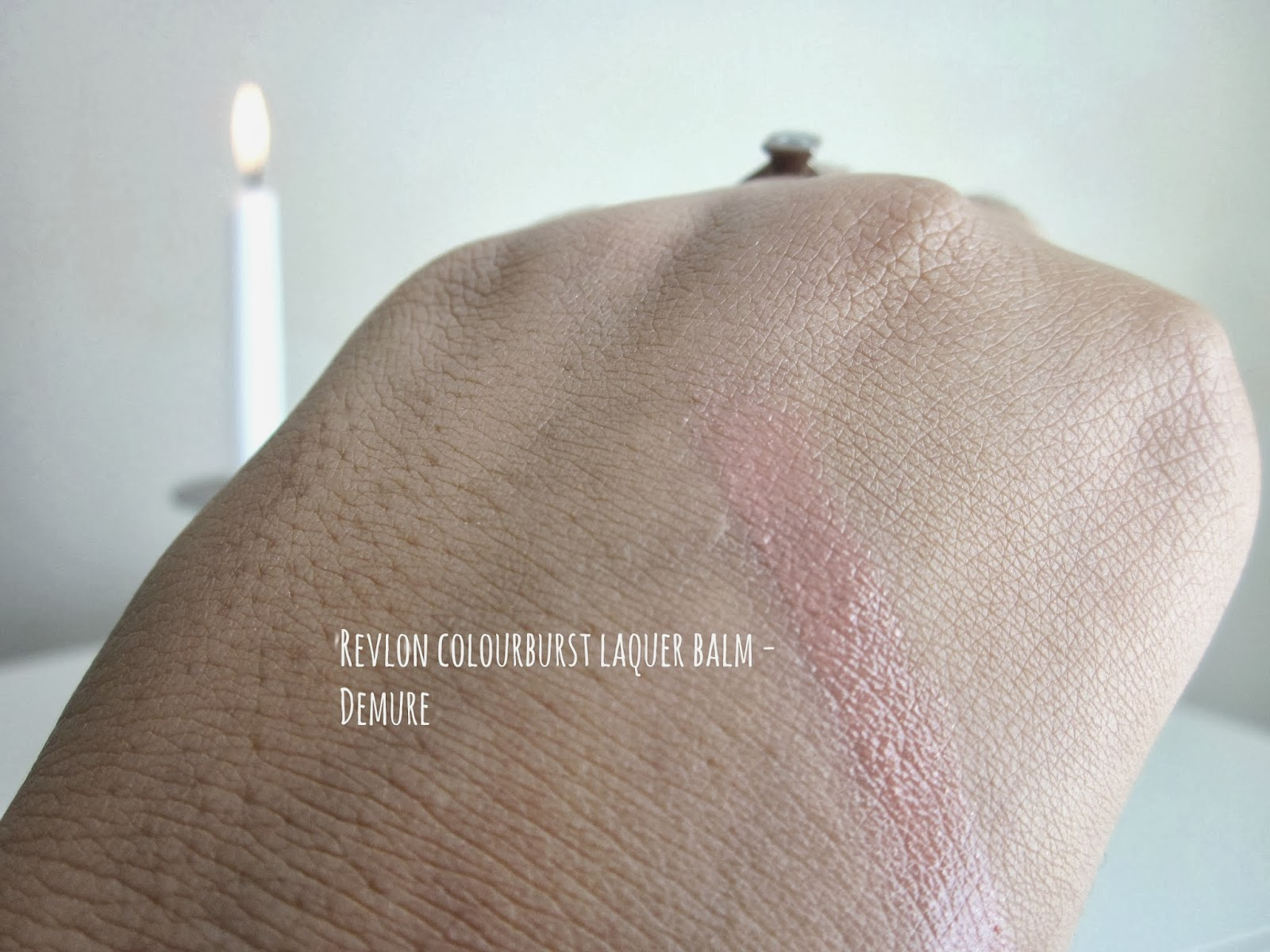 Revlon Colorburst Demure Swatch