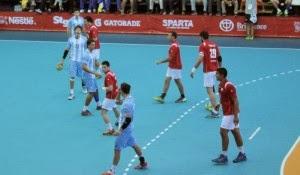 Victoria argentina sobre Chile en ODESUR | Mundo Handball