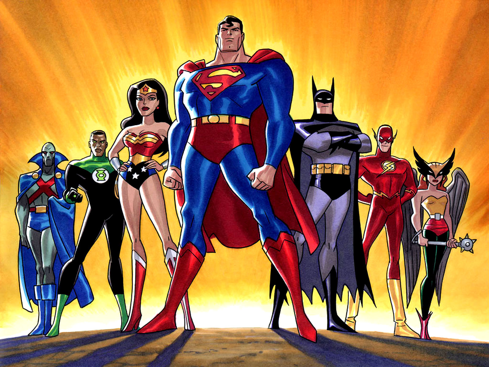 Dc comics all super heroes hd wallpapers
