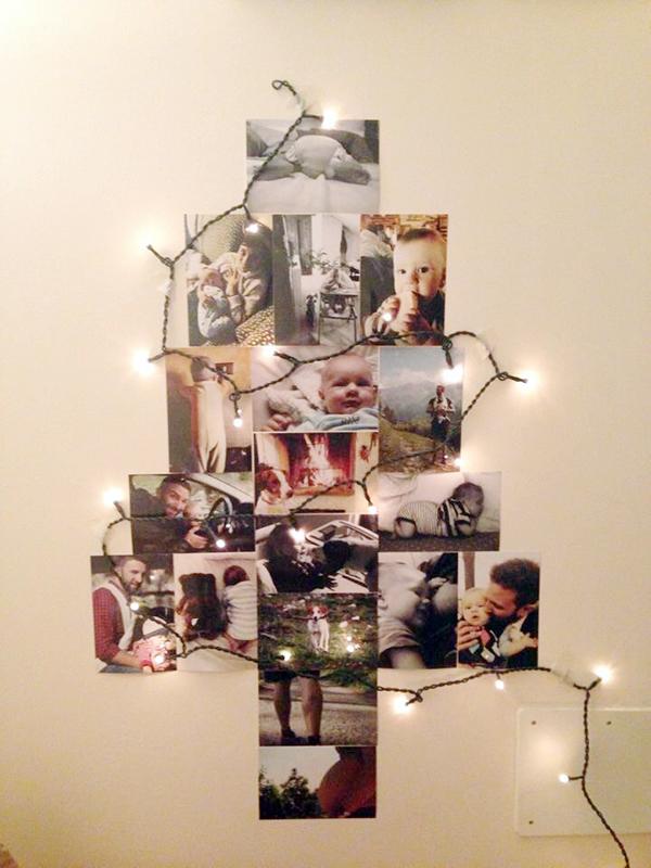 albero natale xmas tree diy
