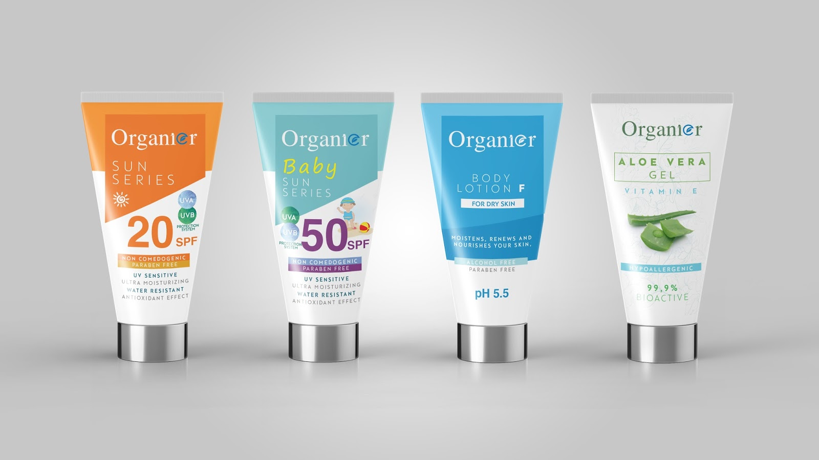 Organier Sun Series Packaging World Creative