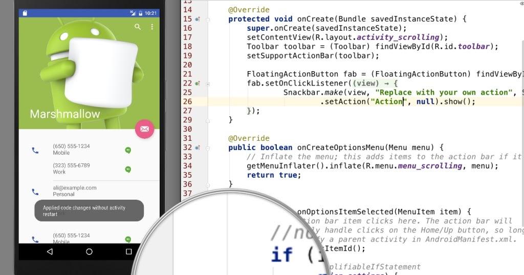 Android Studio 2.0 com novidades que vão agradar aos developers
