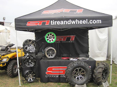 STI Tire & Wheel at Mud Nationals
