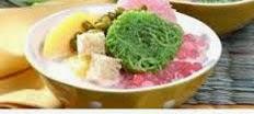 resep praktis (mudah) membuat minuman wedang ronde angsle spesial khas malang enak, lezat