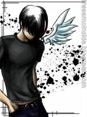 Emo+anime+boy+wallpaper