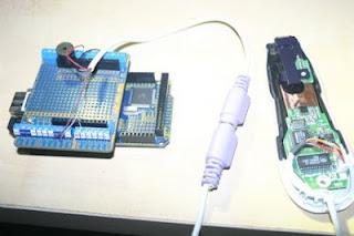 leitor de código de barras com Arduino