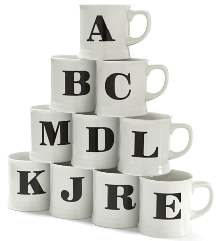 buy monogram mugs
