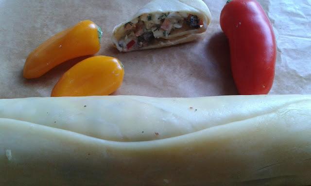 Przekąskowy rulonik z sera