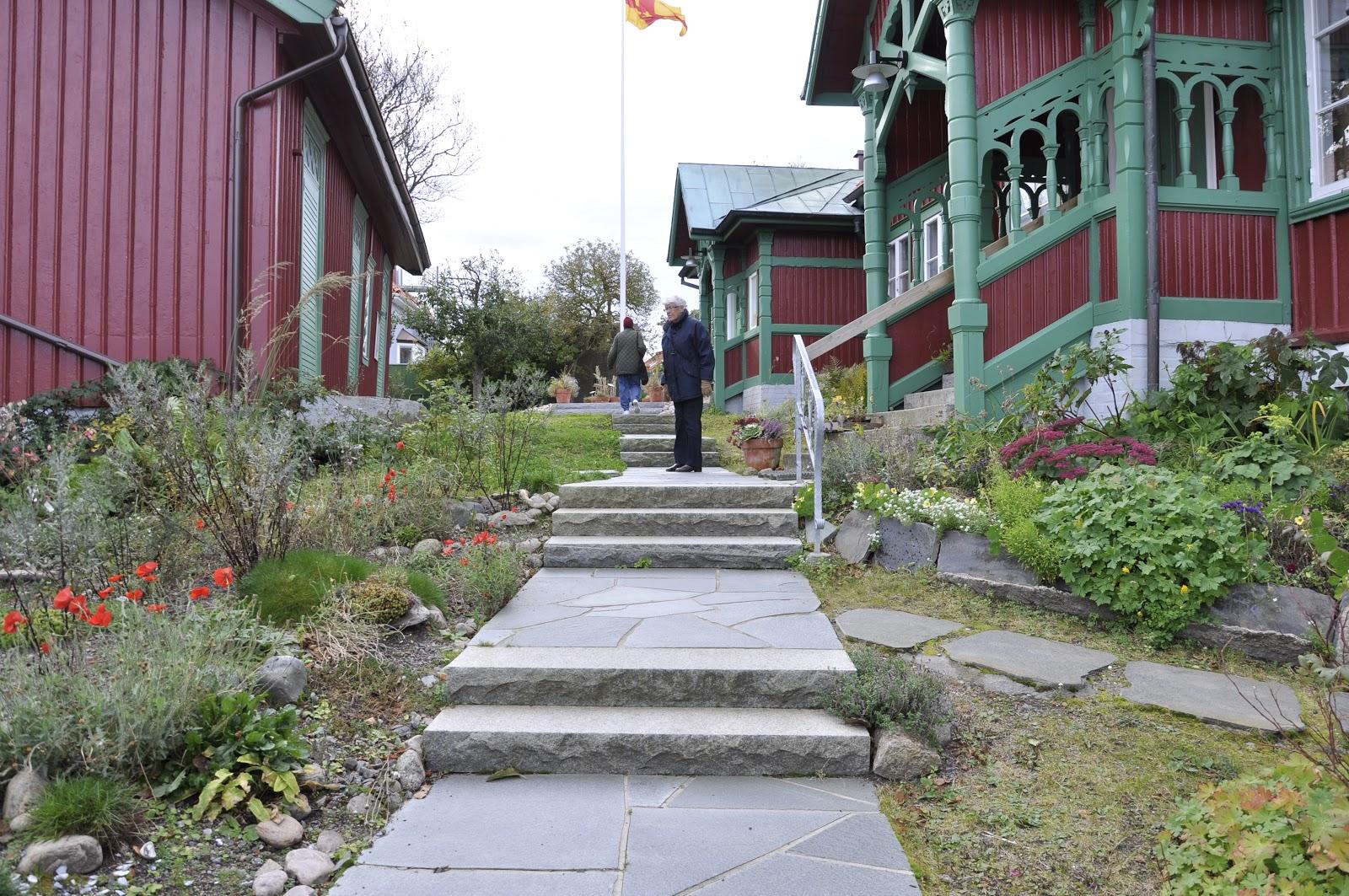 Alen trädgård: sinnenas trädgård