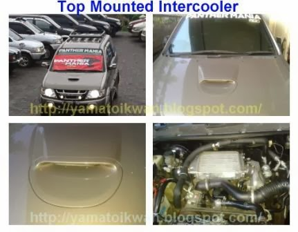 Top Mounted Intercooler