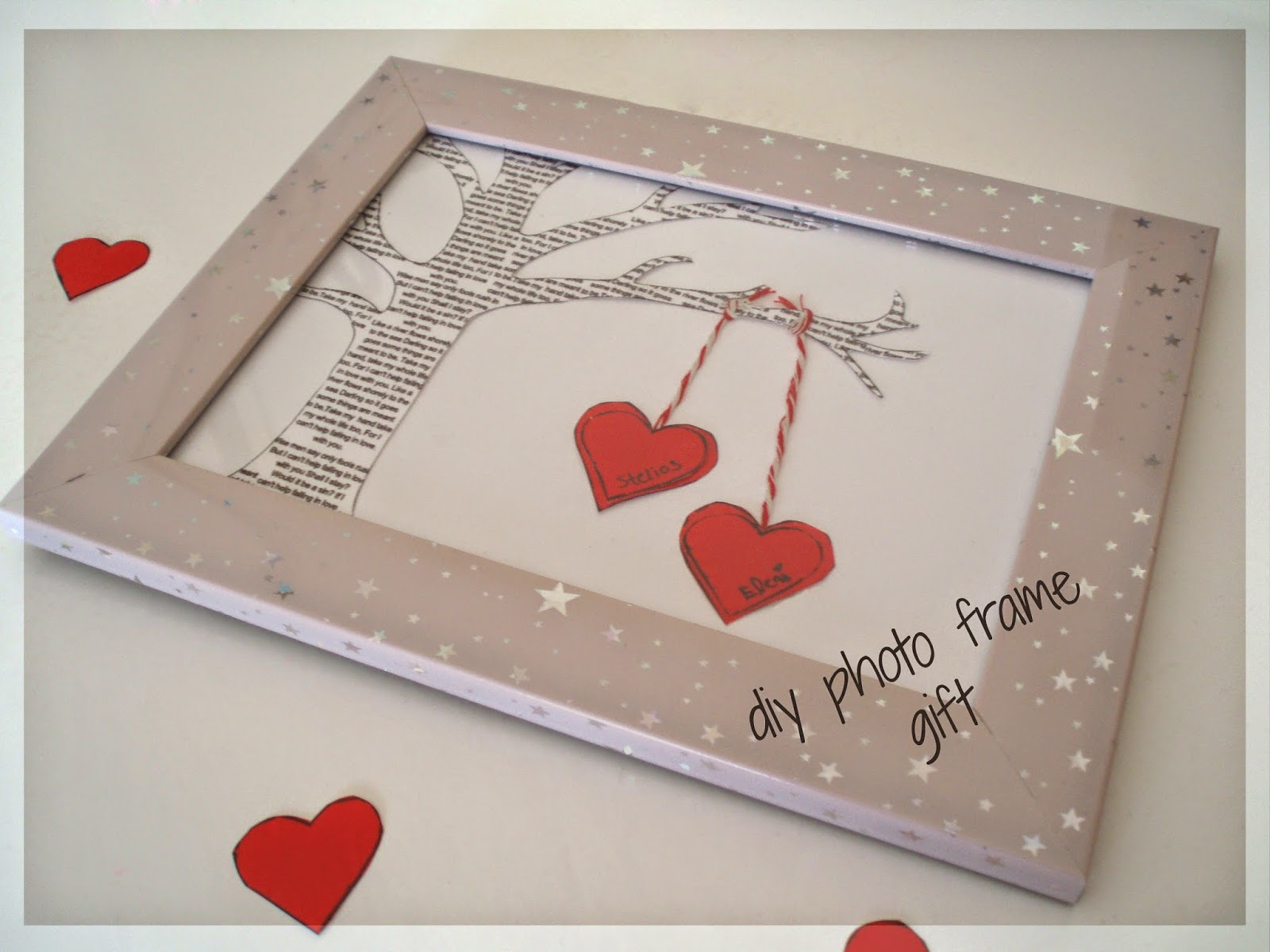 Diy Photo Frame Gift